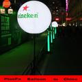 Fábrica directamente por mayor de China impermeable permanente led impresión personalizada luz del globo