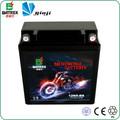 12 V batería de plomo 5Ah con msds, Sellado MF de plomo de la motocicleta de la batería