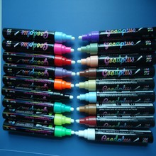 Chalk Markers - HUGE MEGA 18 Color Pack - 10 More Markers & Colors than Others - 6 mm - Artist Quality - 18 Vibrant Bold Colors