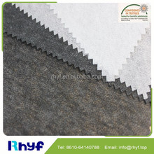 100 polyester warp knit spunbond nonwoven fabric for interlining