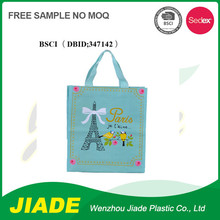 PP woven laminated shopping bag/Recyclable shopping with printing/Printed polypropylene bag