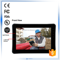 """10"""" ARM-based NVIDIA 1.0GHz Dual Core waterproof dustproof ip65 3G android rugged tablet panel pc"""