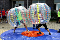 inflatable foot bulle, bubble football, soccer bubble for kids and adults hot sale