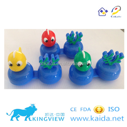 L and R color dual contact lens case FDA approval