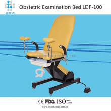 CE approved Obstetric parturition table for birthing use LW-LDF-100 (red,pink, purple, yellow options)