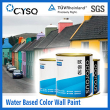 Water Based exterior paint colours