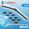 Long Lifespan Latest soft wiper blade with A grade rubber refill