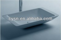 small bathroom sinks/countertop sink basin/bathroom vessel sinks