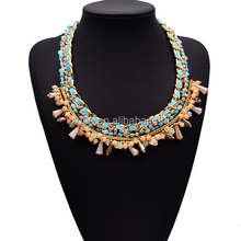 Hot sale and new design fashion rhinestone pendants for chunky necklace for women