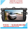 8 inch pure android touch screen double din car dvd player for toyota corolla verso 2009 2010 2011 with 3g WiFi radio bluetooth