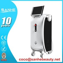 Pain Free Top Quality 808nm Diode Laser Permanent Hair Removal (CE) / 808nm spa touch 2 laser hair removal machine