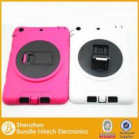 2014 new arrival hybrid silicon case for ipad mini