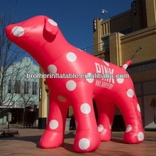 CE Certificate Oxford Cloth Inflatable Spotted Dog