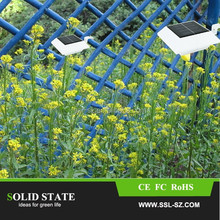 Solar Light Gutter Fence Post Garden Yard Led Lighting