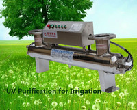 Factory direct selling 75w 5t small UV sterilizer circulation system automatic self cleaning filter