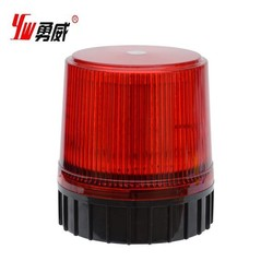 Big plastic beacon light/emergency warning light with red and blue color