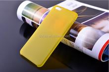 0.3mm super thin pp toughness matt case for iphone6,accept customize design