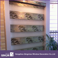 Tree Pattern Latest Design High Quality Blinds Curtain For Window