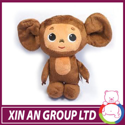 Plush Animal Toys, Monkeys, Dogs,and Cows