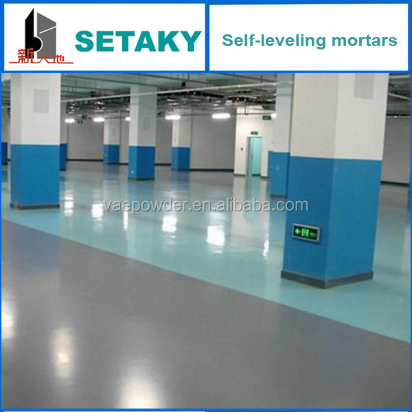 Self Leveling Thinset : Self leveling mortar compatible with stone installation