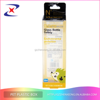 Free samples transparent PVC,PET plastic box with lid,clear plastic packaging box