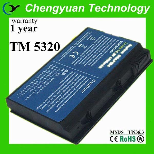 para acer travelmate 5530 5520g 5520 5320 5220 bateria do portátil