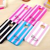 Victoria/'s Secret Soft Rubber Cover Stripe Case Cover for Samsung Galaxy S6