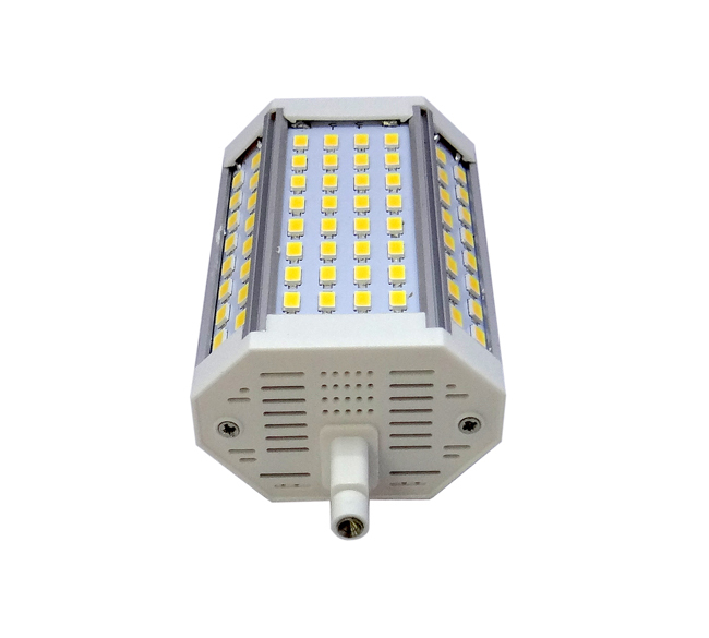 Cri80 25w 118mm r7s lampada led lineare 30w led r7s 118mm for Alogena r7s led