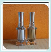NB-01A 2015 Beauty New Design Top Quality Non Spill Wholesale 10ml plastic unique shaped nail polish bottles