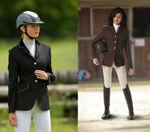 las mujeres al por mayor de caballo chaqueta de equitación