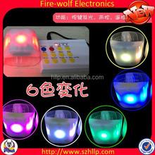 PVC Material Updated LED Flashing Bracelet With LED Lights New Gifts LED Flashing Bracelet