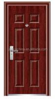2015 lastest modern steel doors metal frame security steel doors used residencial security steel door for sale