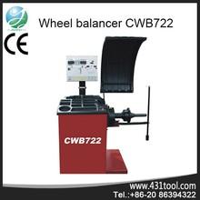 512 angular positions CWB722 China tire balancing machine/ wheel balancer for auto with ce