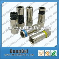 Dongbei Hot sale HFC television cable RG59 RG11 RG6 F connector