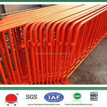 2015 good price pvc coated orange metal Pedestrian traffic control stoppers
