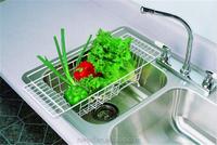 Vintage Stainless Steel Wire Vegetable Fruit Dish Food Drying Rack