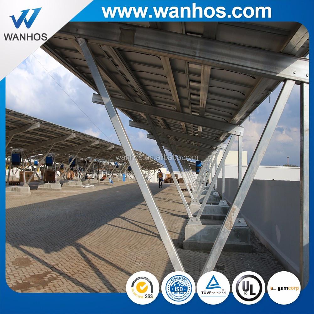 All-aluminum Sturdy Solar PV CARPORT