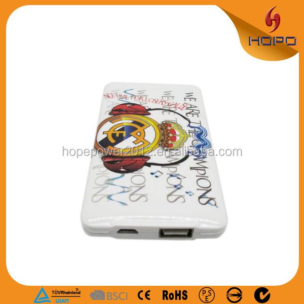 Tarjeta de crédito Ultra Slim 5200 mah cargador para asus banco portable de la energía
