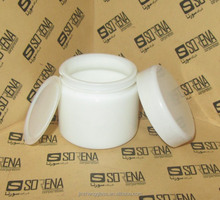 beautiful Bulk cheap Cheap Wholesale clear white glass 80ml glass cosmetic jar with lids