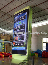 inflatable cell phone giant inflatable cell phone