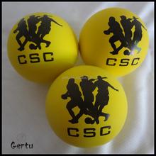 57mm hollow bouncing ball,rubber balls
