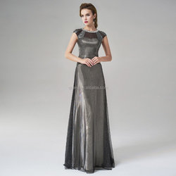 100% Real Photo 2015 New arrival Siduo prom dress high end chiffon dress evening dress