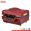 Semi-automatic all in one 3d sublimation heat press machine
