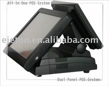 double screen pos system