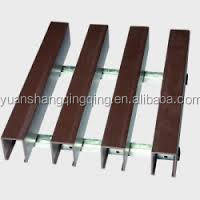WPC/Wood Plastic Composite Mould-proof Decorative Ceiling for Interior Decoration ,Hotel Showroom