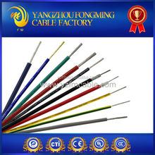Silicone Insulated high temperature electric cable and wire with UL 3135