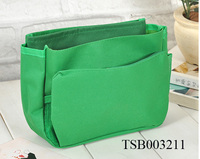 2014 Fashion Travel Green Cosmetic Bags Makeup Bags