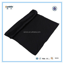 Black cooling towel,white logo