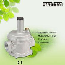 Dividir / 2mtz, RG / 2mtz, Auto regulador de Gas