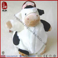 New style animal cow plush backpack for kids